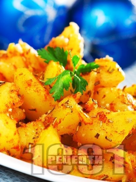 Запечени картофки с розмарин - снимка на рецептата